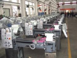 Сборка токарных станков на заводе Optimum