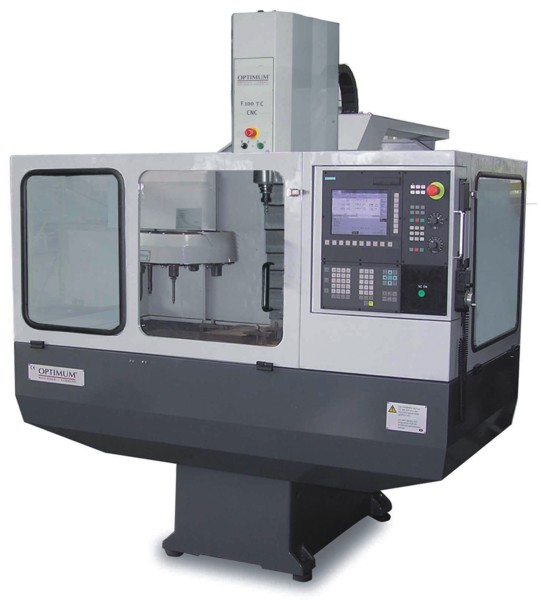 Станок вертикально-фрезерный F100 TC-CNC