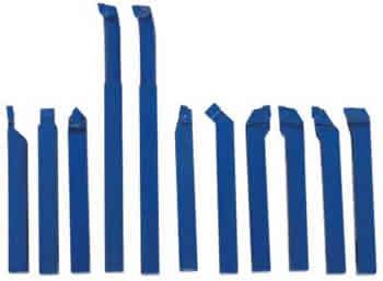 Набор токарных резцов 11 шт. 10 мм.