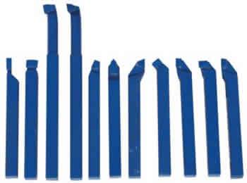 Набор токарных резцов 11 шт. 8 мм.
