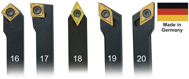 Набор токарных резцов 5 шт. 12 мм.