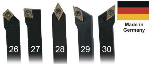 Набор токарных резцов 5 шт. 16 мм.