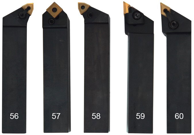 Набор токарных резцов 5 шт. 32 мм.
