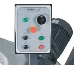 Ленточнопильный станок Opti S350G: панель управления
