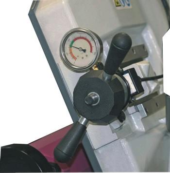 Ленточнопильный станок Opti S350AV: натяжение пильного полотна